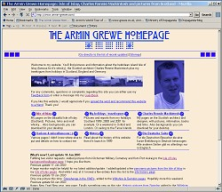 Preview of The Armin Grewe Homepage